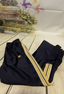 3/$15 Starter basketball pants navy yellow M 8-10